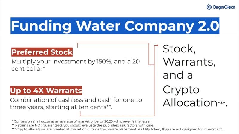 Funding Water 2.0