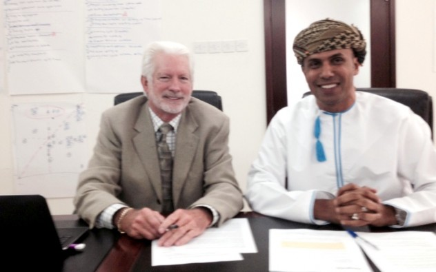 Signing Gulf Energy Purchase Order