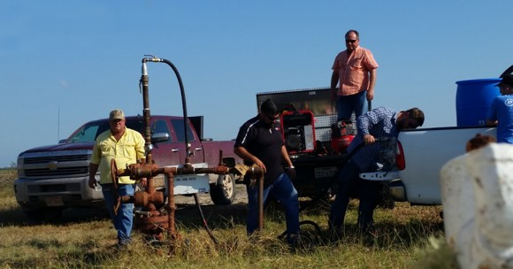 Cobalt operating their H2S-N system at a customer site in Texas.
