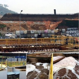 OriginClear retrofit project at an existing landfill.