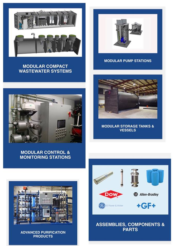 OriginClear Modular Water Systems™ Product Line