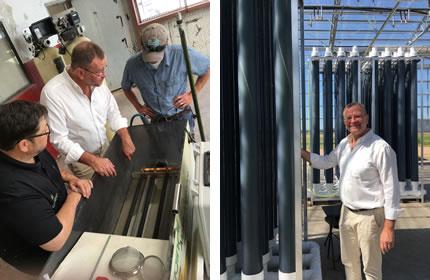 OriginClear Technologies Algae Harvesting Electro Water Separation