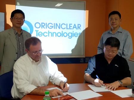 OriginClear Thailand addressing Thailand Water Supply