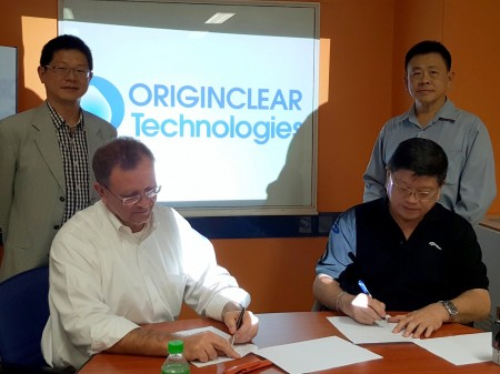 OriginClear Thailand addressing Thailand Water Supply