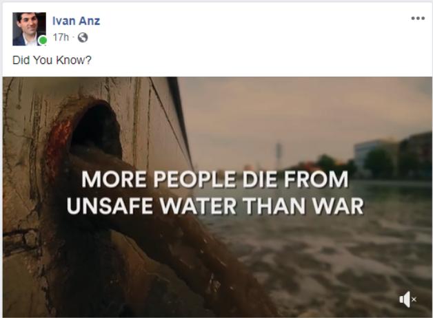 Ivan Anz Facebook post