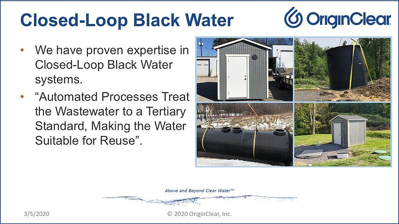 WITNG Closed-Loop Black Water