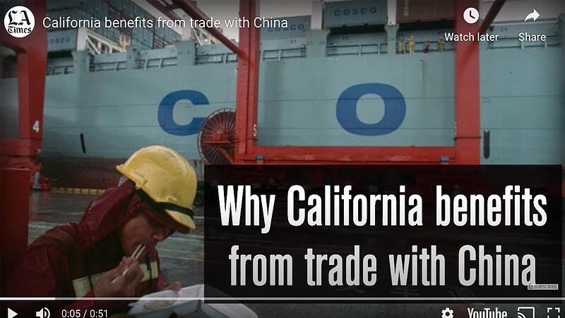 Cali Benefits from Trade with China
