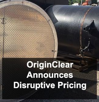 Disruptive Pricing Announcement
