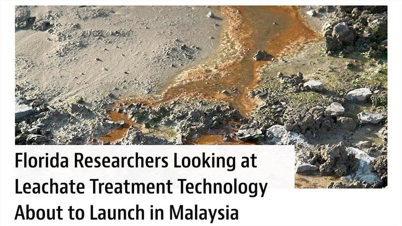 Leachate treatment Malaysia