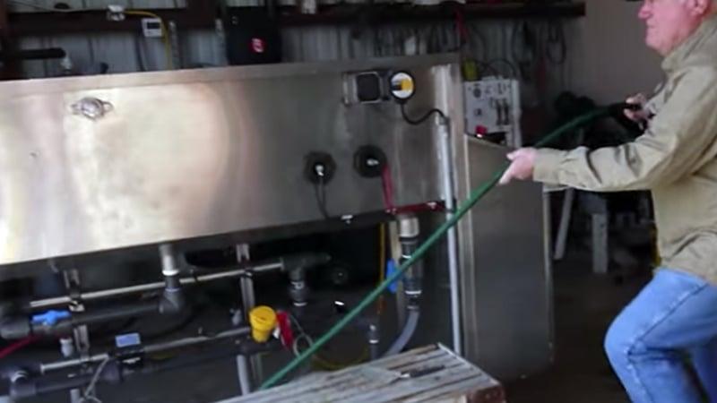OriginClear Algae Harvester