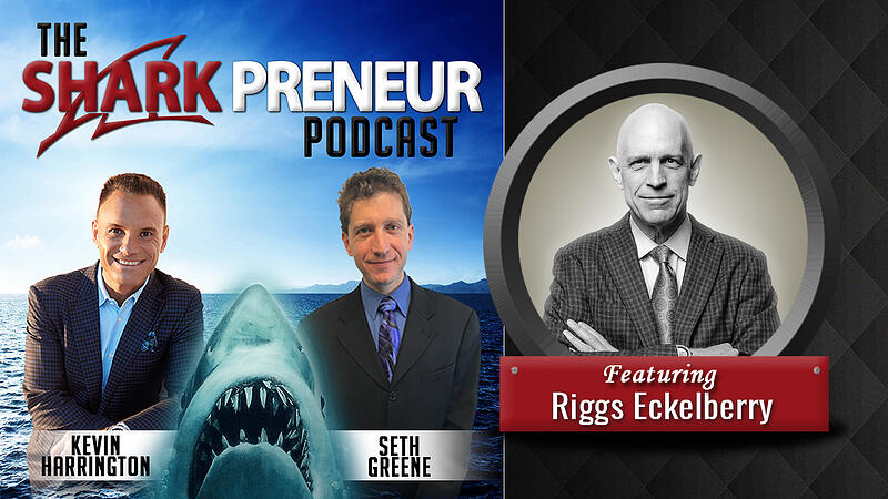 Sharkpreneur rectangle youtube podcast art_Riggs Eckelberry