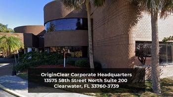 OriginClear Corporate HQ in Clearwater FL