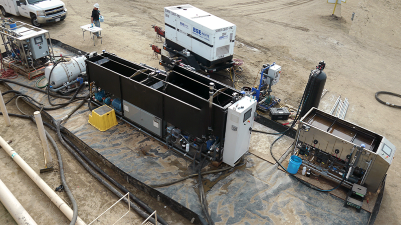 Bakersfield Complete EWS & Filtration Unit