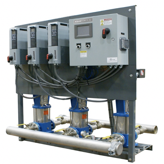 High Volume Booster Skid Control-Panel-e