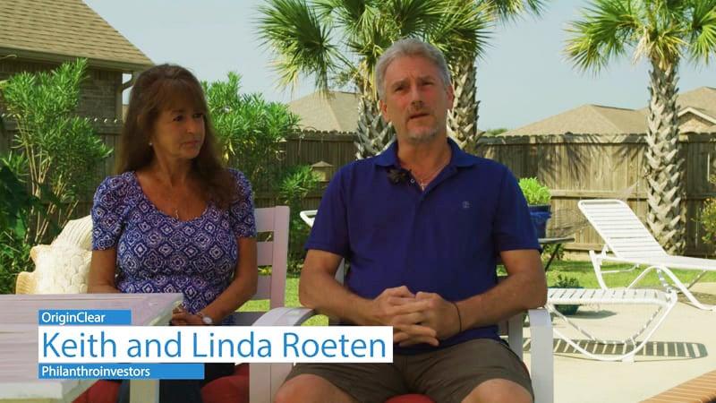 Water Philanthroinvestors Keith and Linda Roeten