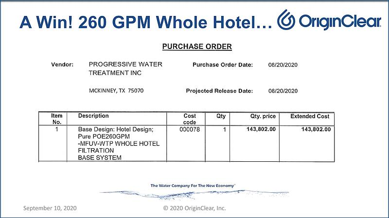 20200910 Whole hotel system
