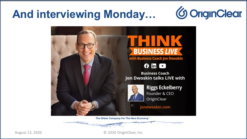 20200813 Jon Dwoskin THINK BUSINESS