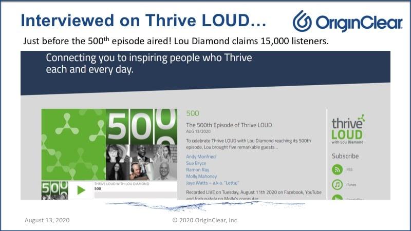 20200813 Thrive LOUD