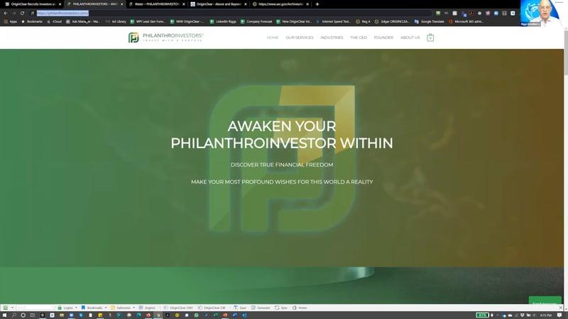 Philanthroinvestor website