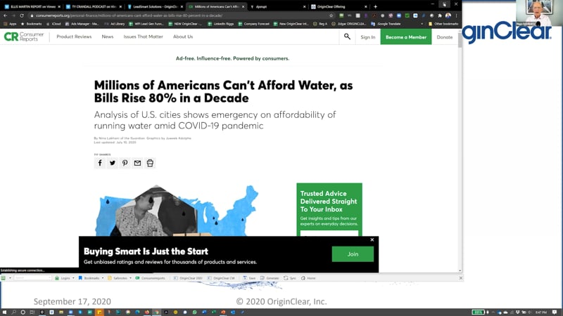 Millions cant affrord water