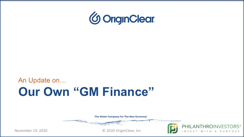 "Our own ""GM Financial"""