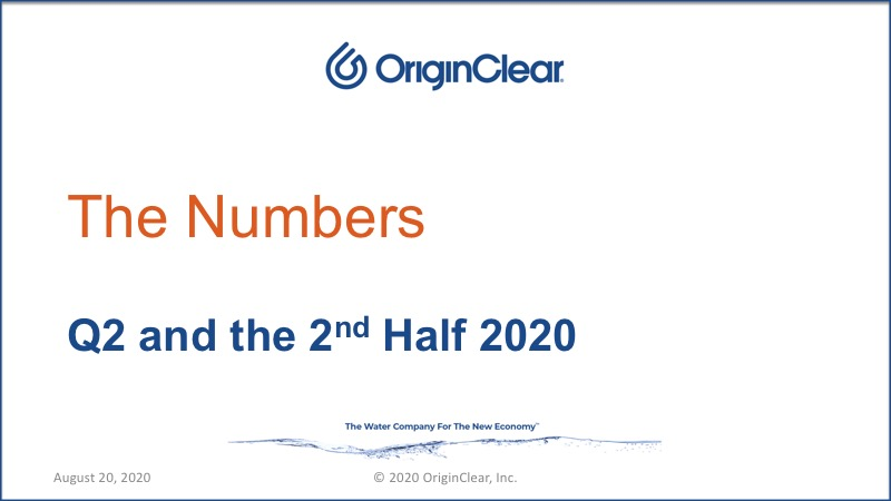 20200820 The Numbers