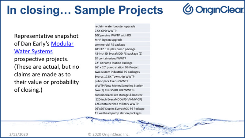 20200213 Sample Projects