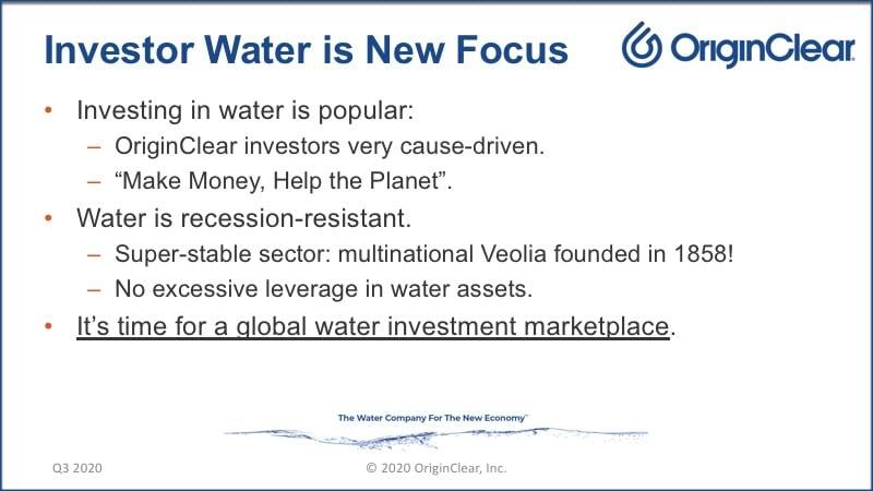 20200625 Investor Water - New Focus
