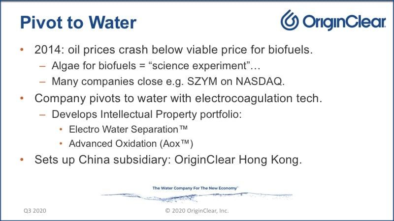 20200625 Pivot to Water