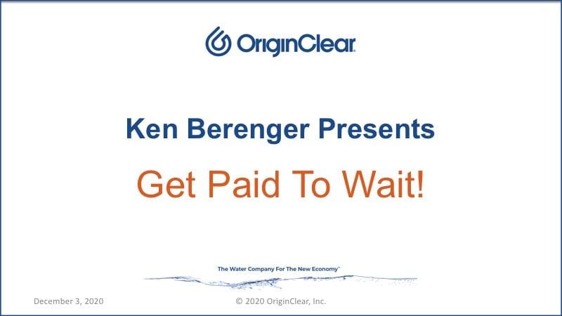 20201203 Ken Berenger presents