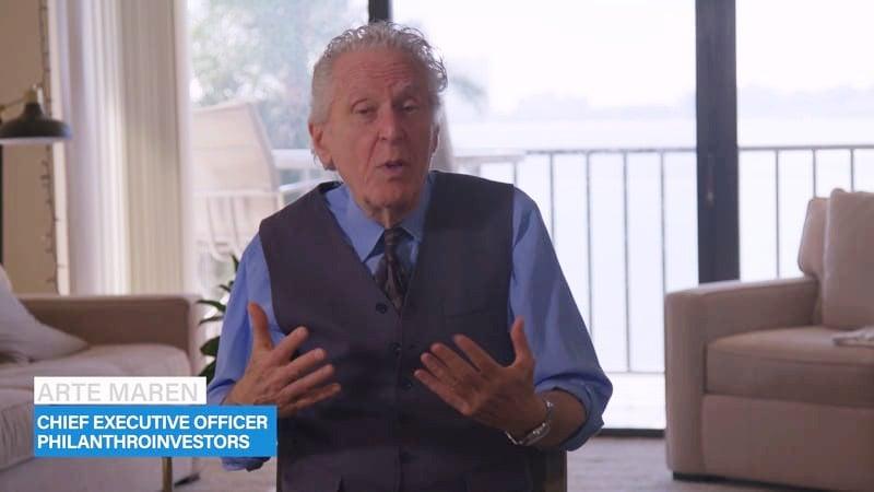 Arte Maren CEO Philanthroinvestors from his home 2