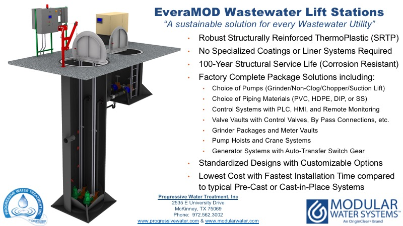 EveraMOD wastewater lift stations