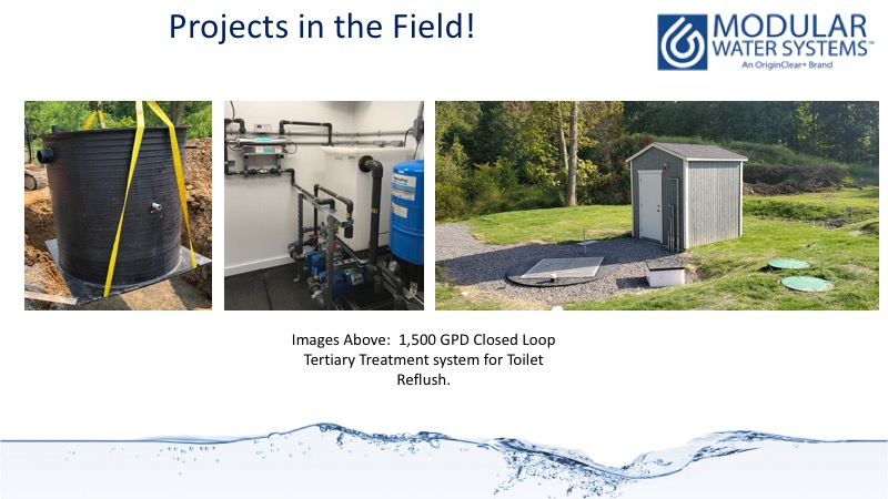 Closed loop zero discharge wastewater treatment systems