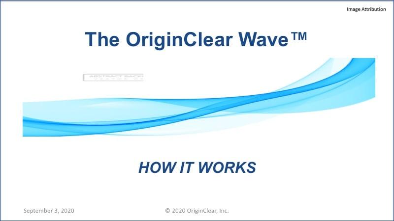 20200903 OriginClear Wave