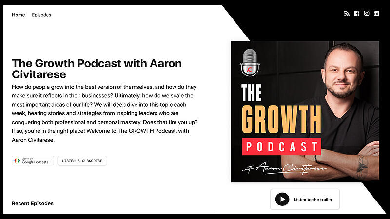 Growth Podcast ft