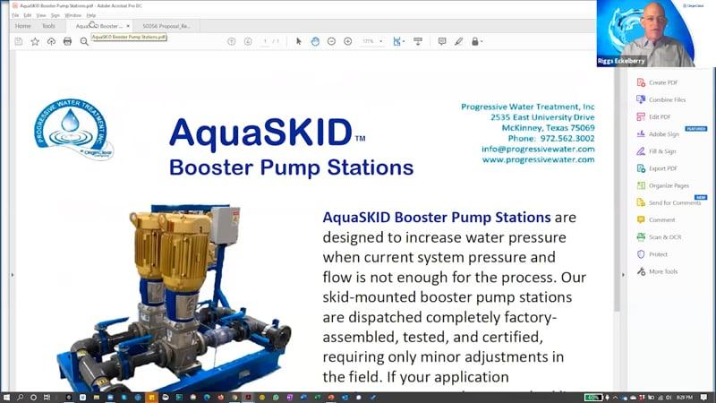 AquaSkid Booster Pumps