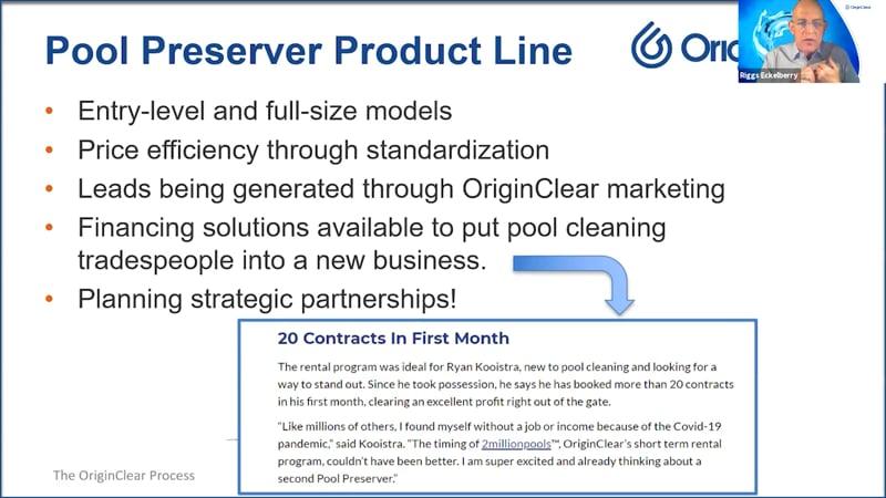 Pool Preserver Product Line