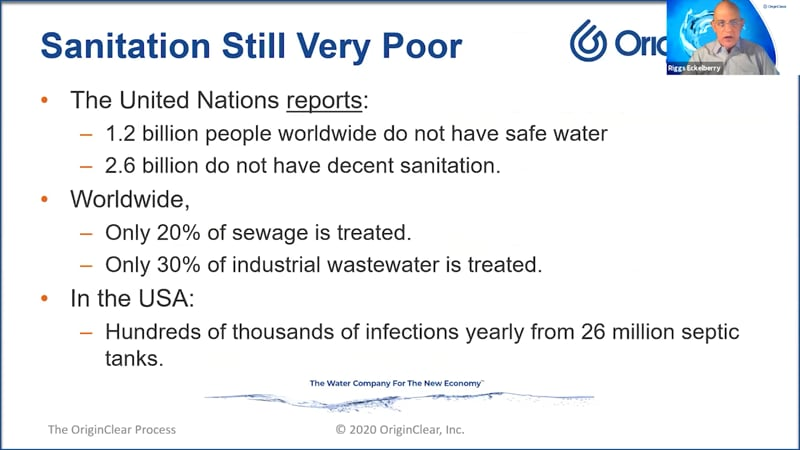 Sanitation Still Very Poor