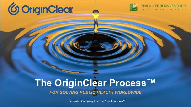 The OriginClear Process