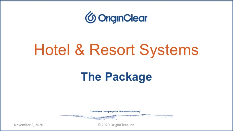 Hotel & Resorts package