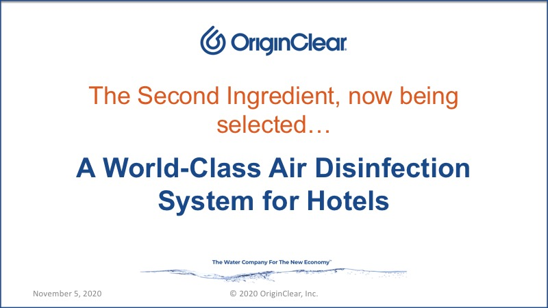 20201105 Air Disinfection System