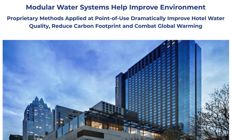 Hotel Case Carbon Footprint Reduction Case Study