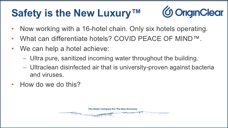 The new story - Safety is the New Luxury