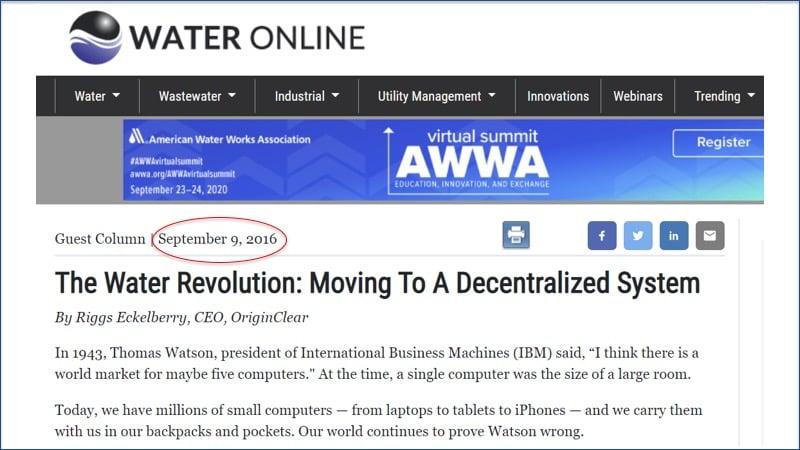 20200806 Water Online Decentraization