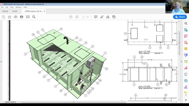 Pondster CAD Details