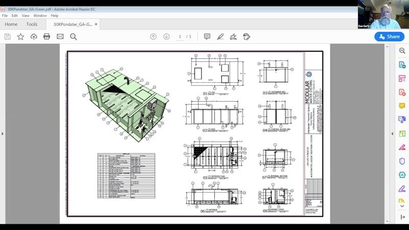 Pondster detailed CAD-1