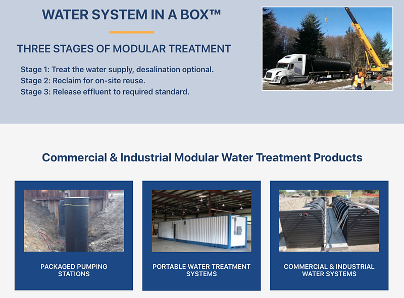 Modular Water Systems Home