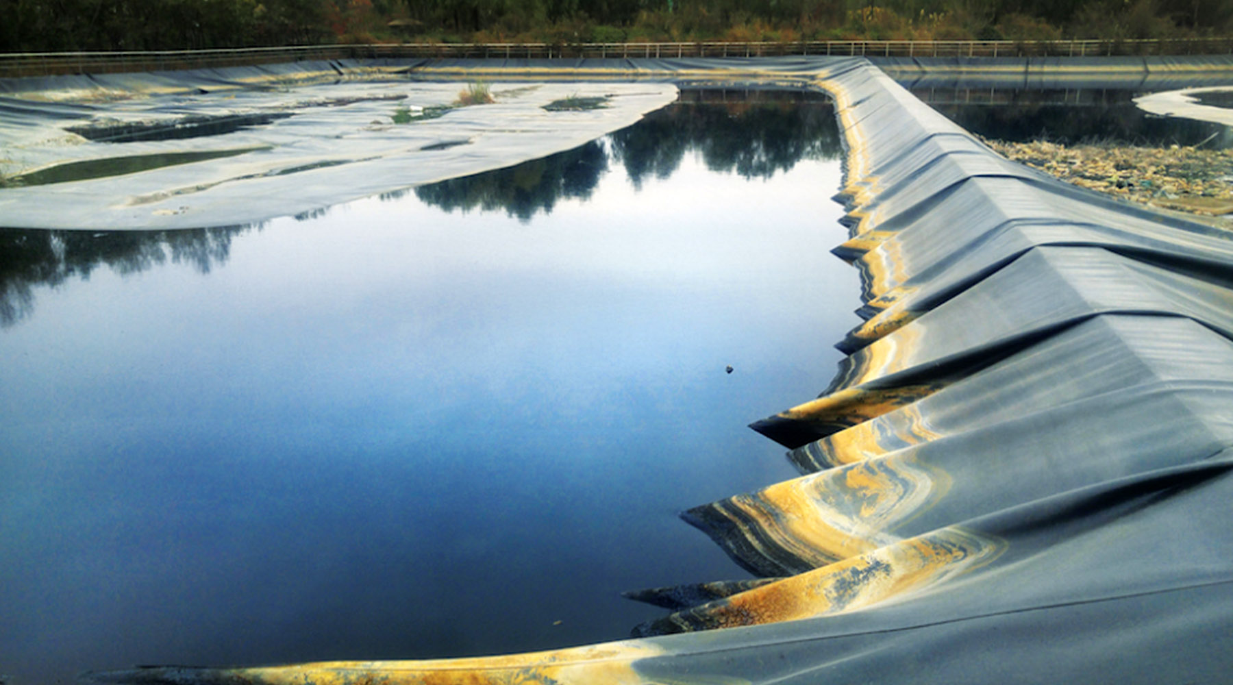 China Landfill Leachate Blackwater