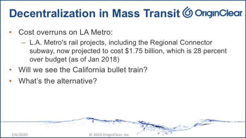 Decentralization Mass Transit