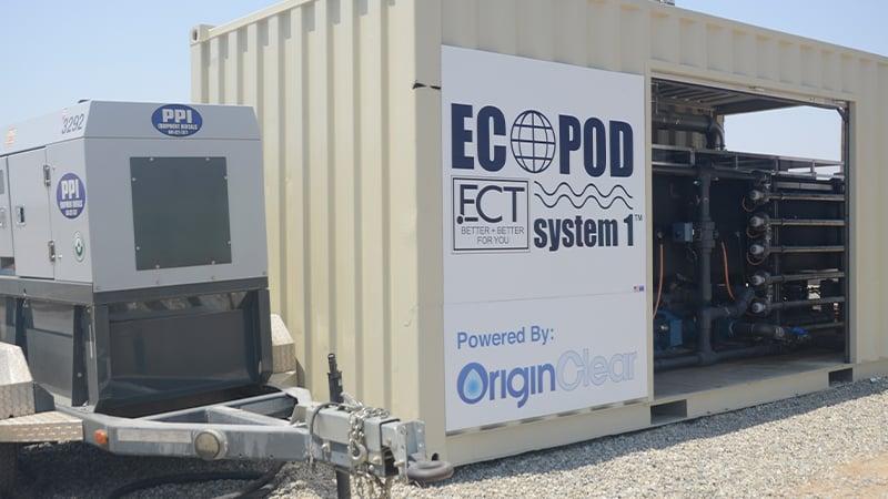 ECT EcoPOD EWS System Kern County Oil